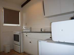 Kitchen in the Superior one bedroom unit