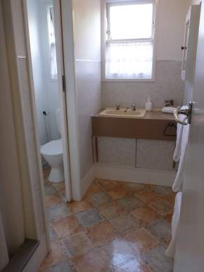 Bathroom in two bedroom unit
