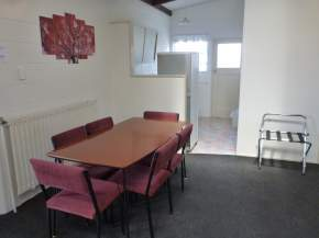 Dining area in two bedroom unit
